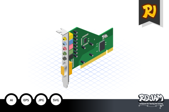 Isometric Sound Card