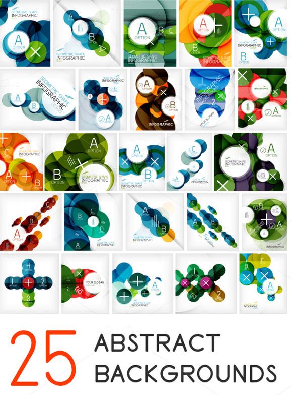 25 Circle Infographic Designs