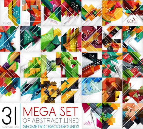 31 Geometric Design Patterns
