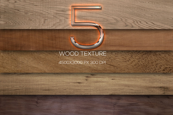 5 Wood Texture Wooden