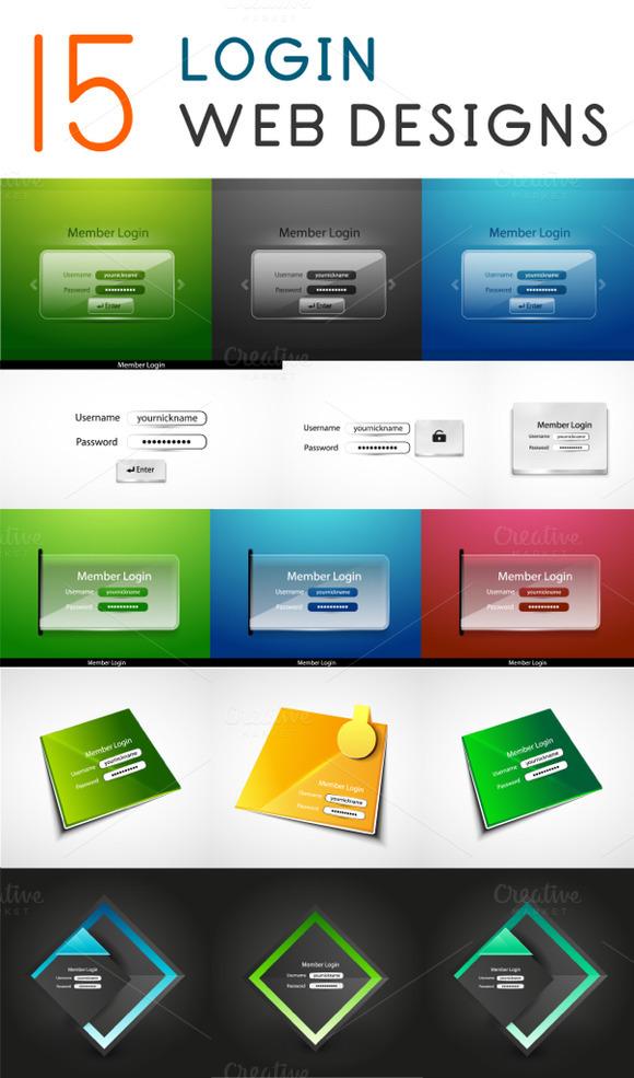15 Login Web Designs