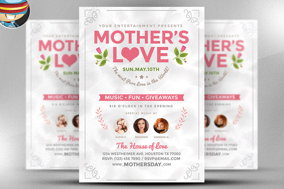 Mother S Love Flyer Template
