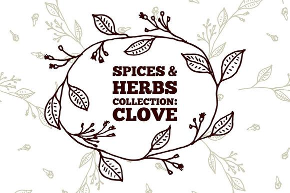 Spices Herbs Clove