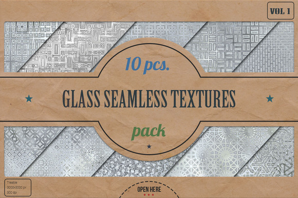 Glass Seamless HD Textures Pack V.1