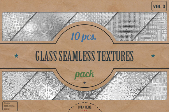 Glass Seamless HD Textures Pack V.3