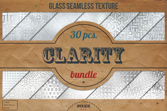 30 Glass HD Textures XL Bundle