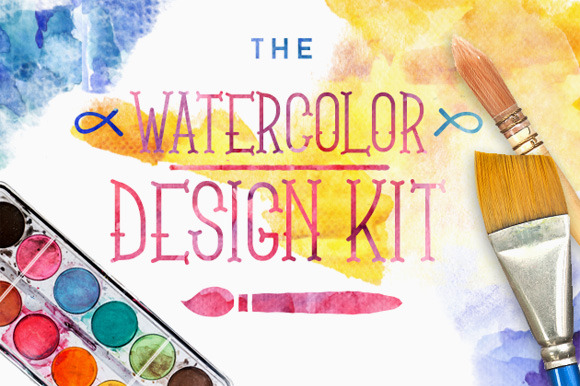 The Watercolor Design Kit