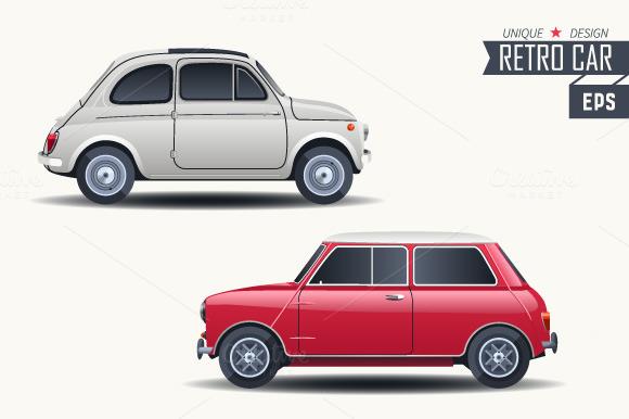 Retro Car Concept