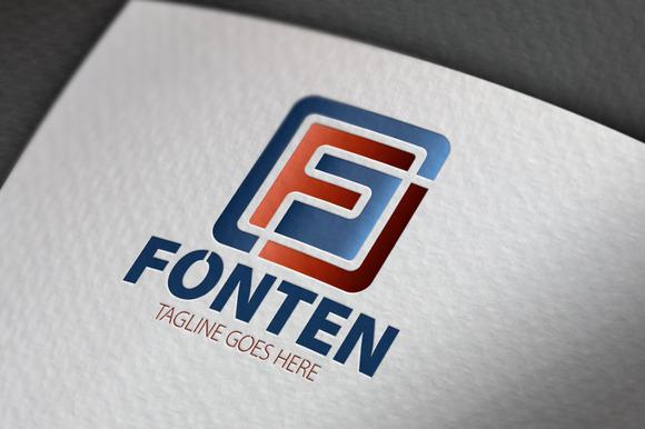 Fonten F Letter Logo
