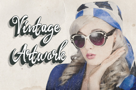 Vintage Artwork Smart Psd Template