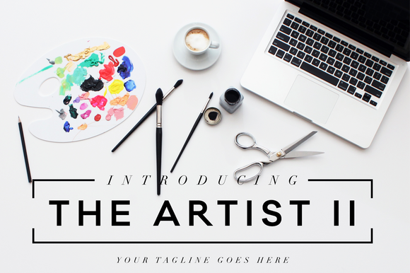 The Artist II Header Image Bundle