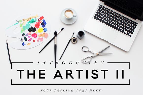 The Artist II Header Image Bundle