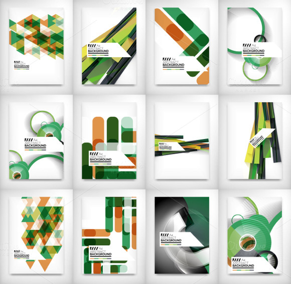 Green Geometric Business Designs