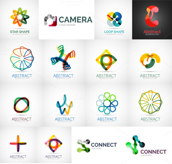 Abstract Company Logos