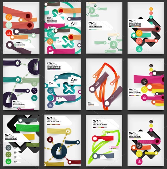 Infographic Brochure Designs