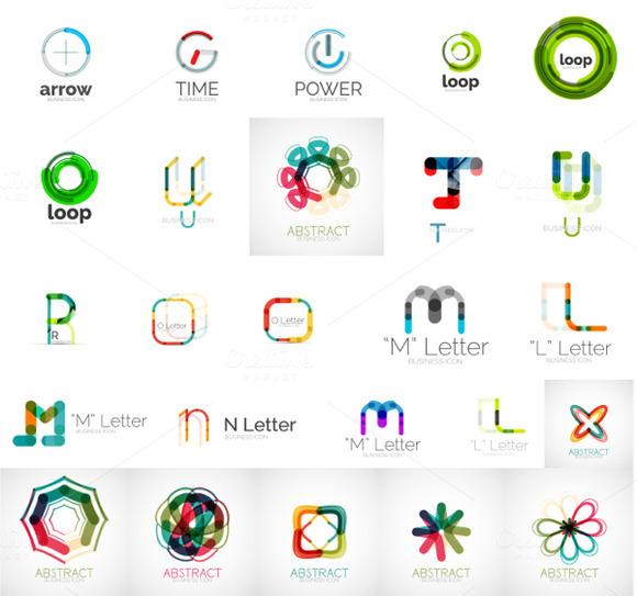 Thin Line Logo Designs