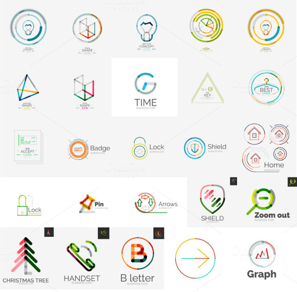 Web And Tech Logos