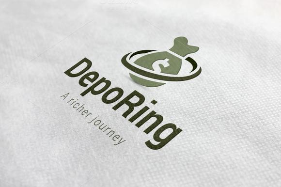 Deposit Wheel Logo