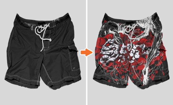 Men S Shorts Mockup Templates Pack