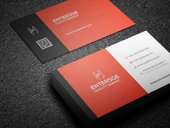 Corporate Business Card #2