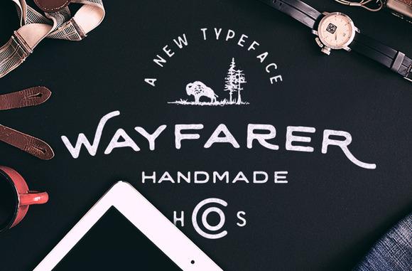 Wayfarer Hand Drawn Font
