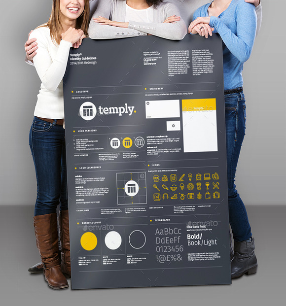 Poster Mock-Up Templates Photorealis