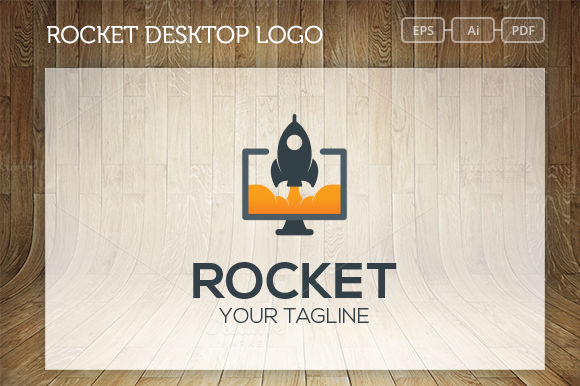 Rocket Desktop Logo