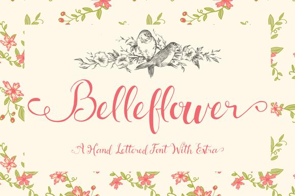 Belleflower Typeface