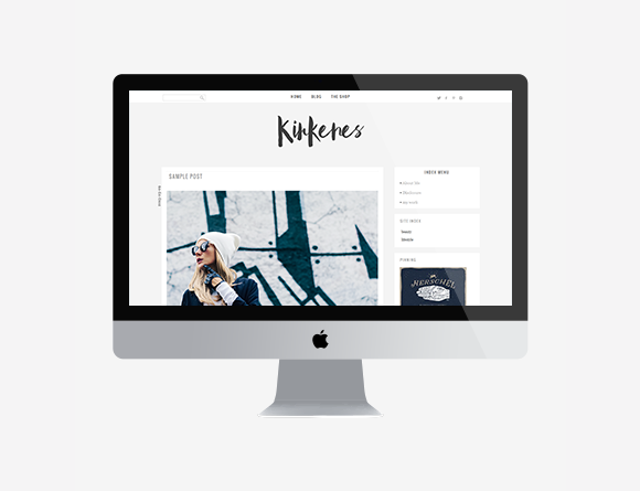Kirkenes WordPress Theme