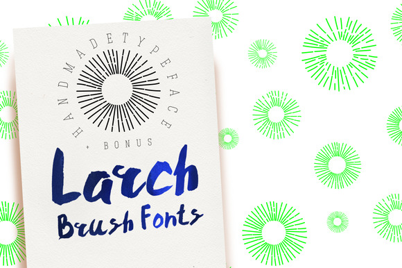 Larch Brush Font