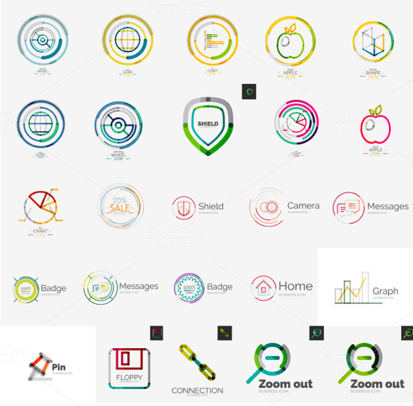 Universal Company Logos