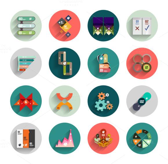 Circles Infographic Designs