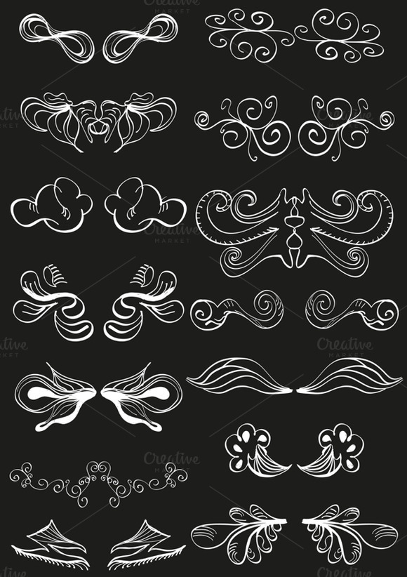 Hand-drawn Doodle Decorations