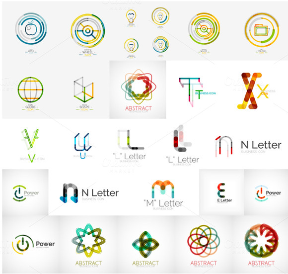 Letters And Symbols Company Logos