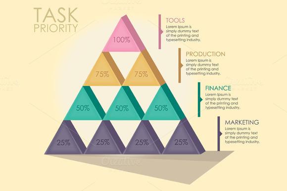 Pyramid Infographics