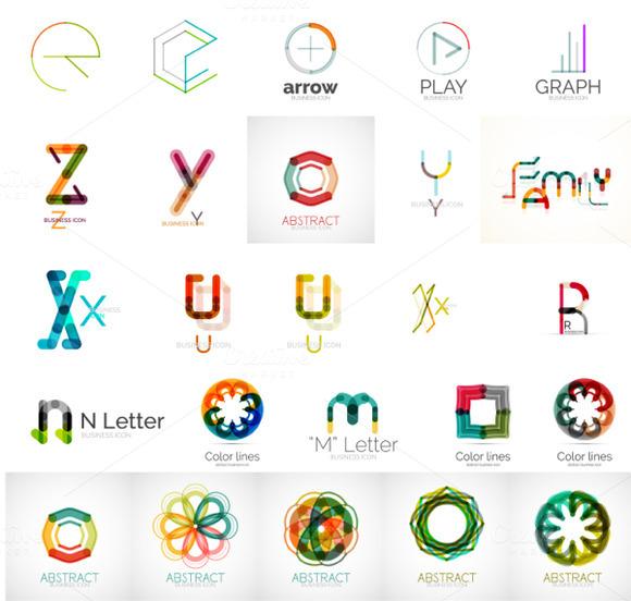 Geometric Logo Collection