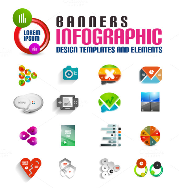 3D Infographic Designs