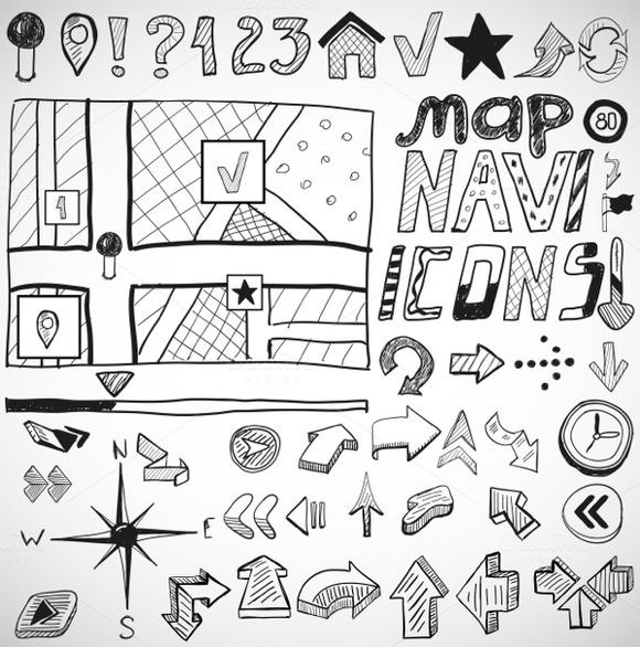 Navigation Doodles