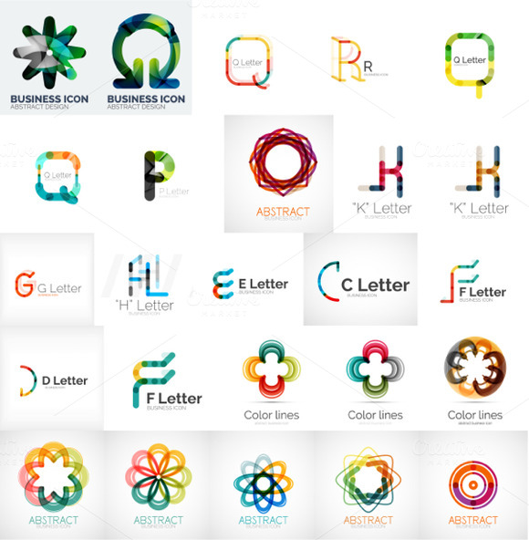 Letter Business Logos