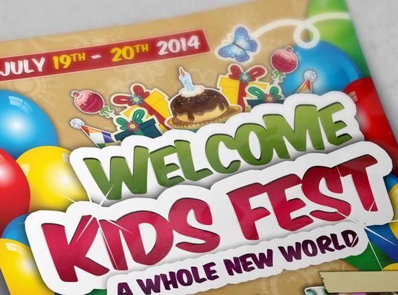 Kids Festival Flyers