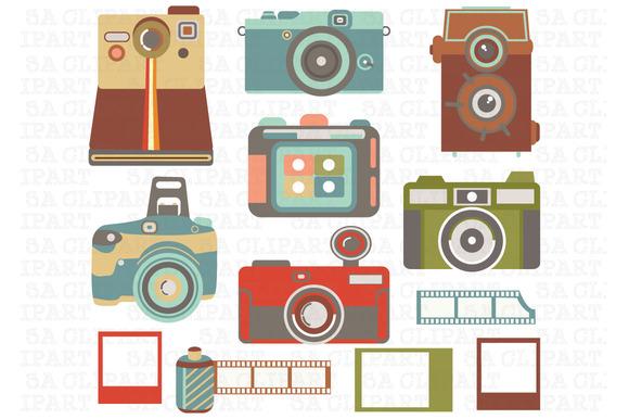 Vintage Camera ClipArt
