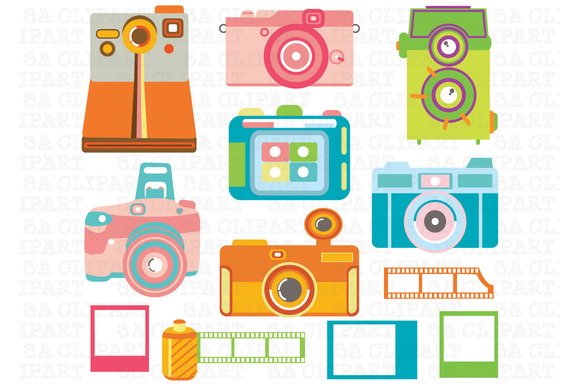 Camera Digital ClipArt