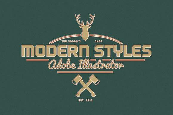 25 Modern Graphic Styles