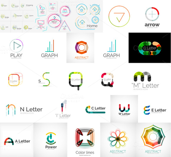 Line Logo Collection
