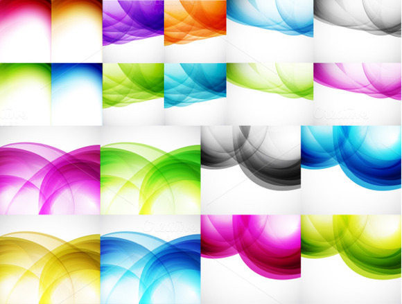 Color Wave Backgrounds