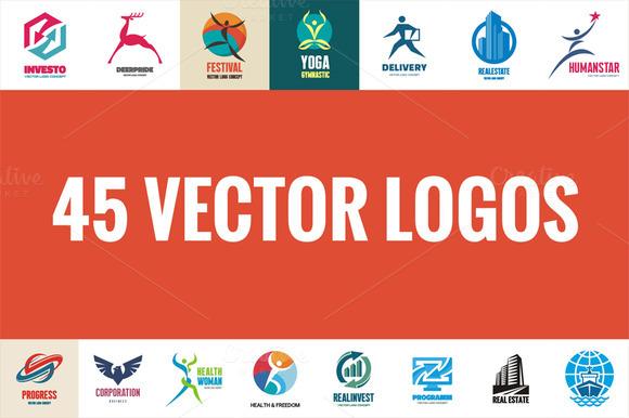45 Creative Vector Logos