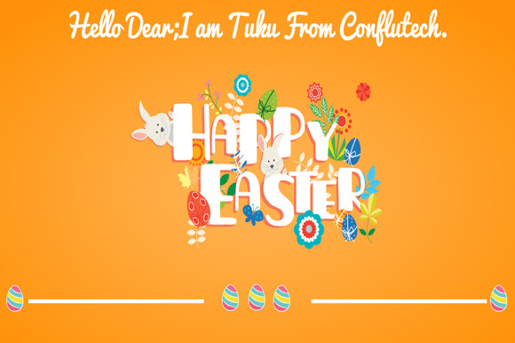 Happy Easter- Web Design Template