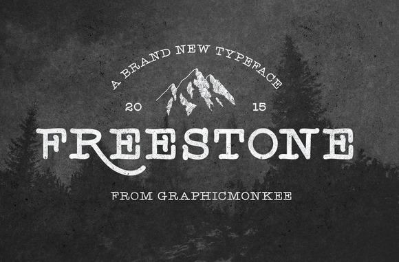 Freestone Handmade Font