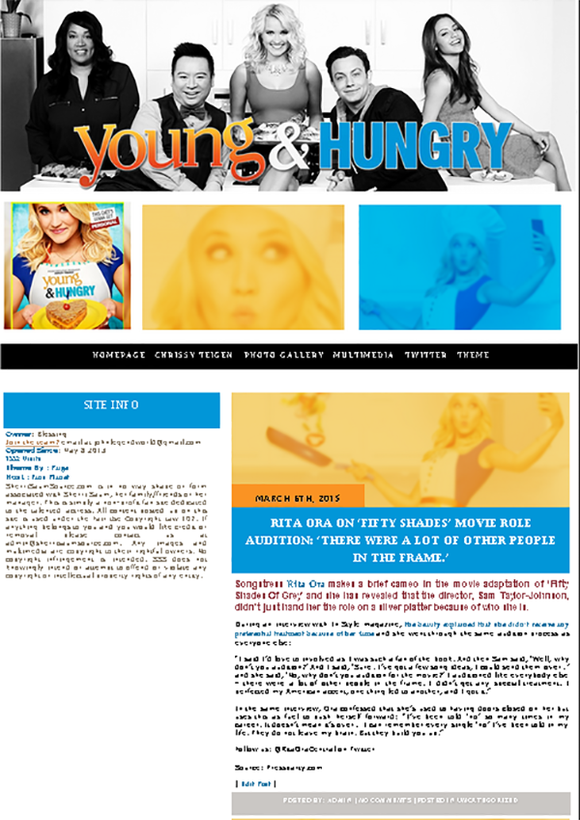 Young Hungry Wordpress Theme