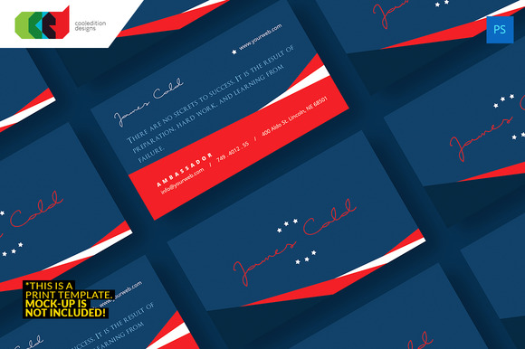 Political Business Card 38